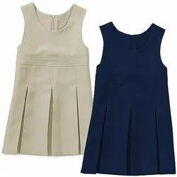 Girl School Uniform Jumper Dress