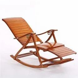 Brown Home Wooden Rocking Chair