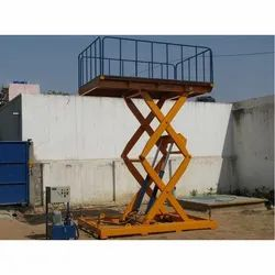 HUNTER HEAVY DUTY SCISSOR LIFT TABLE
