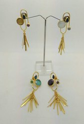 Color Stone Stunning Earring