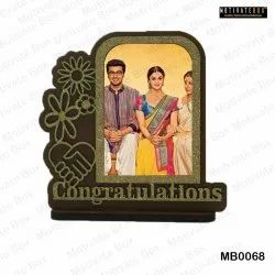Wooden Sublimation Frame, For Gifting