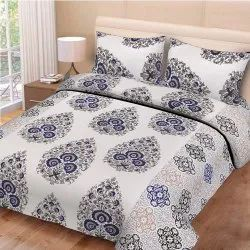 Autoloom Cotton Double Bed Sheets