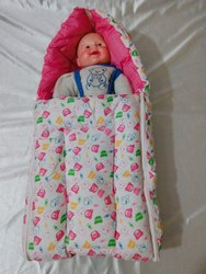 Printed Baby Bed Cum Bedding Set
