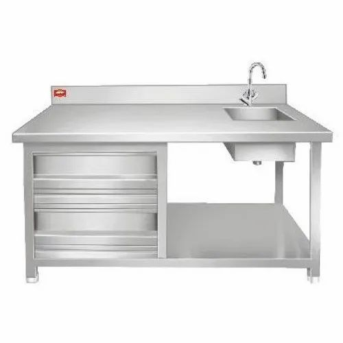 Quality Enterprises Bar Sink with Table