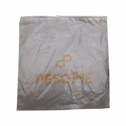 Flexographic Printed LDPE Slider Zip Lock Bag, Capacity: 1 ...