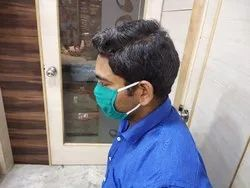 Doctor Green Cotton Mask