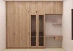 Wooden Loft Wardrobe