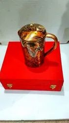 Printed Copper Jug For Corporate Gifts