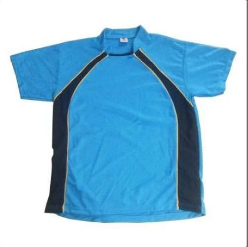 Half Sleeves Round Neck Mens Multicolor Sports Tshirts
