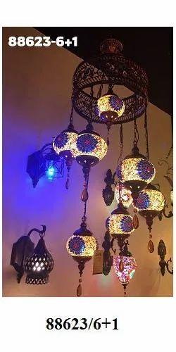 Deepak CFL Antique Hanging Light