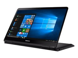 Black Samsung Notebook 7 Spin NP750QUA-K01US