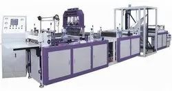 Face Mask Making Machine Fully Automatic With Attached Non Woven Bag Making Machine