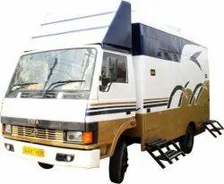 Super Luxurious Portable Toilet Van On Rent