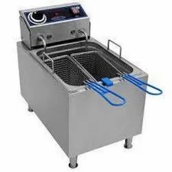 Deep Fryer (French Fries) Double Electric Gas