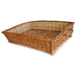 Rectangle Wood Bamboo Basket