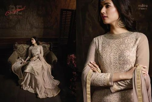 Twisha Art Silk Designer Gown