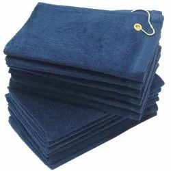 Plain Navy Blue Terry Towels, Size: 30x60 inch