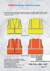 Reflective Jacket for Covid workers Corona