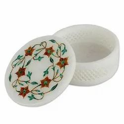 Marble Jewellery Box, For Ring Packaging