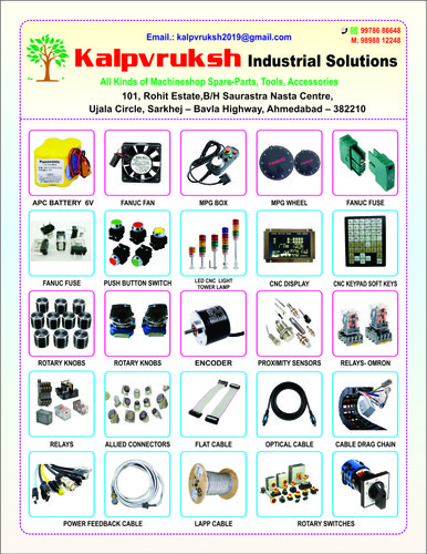 CNC Machine Rotary Switches & CNC Knobs Wholesale Trader
