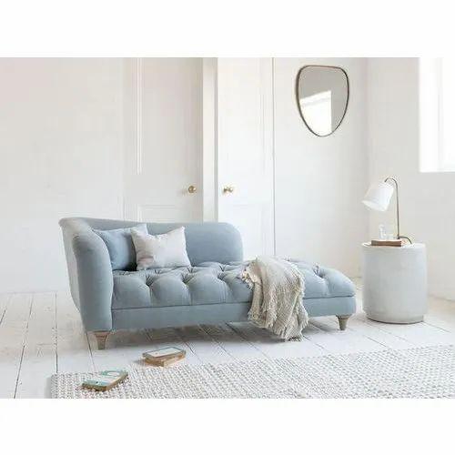 Blue Fabric Designer Sofa
