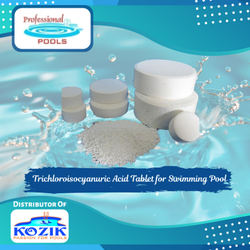 Trichloroisocyanuric Acid Tablet for Swimming Pool
