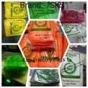 Sks Lemon Yellow Grocery Non Woven W Cut Bag- 25 Gsm Pure Virgin, For Shopping