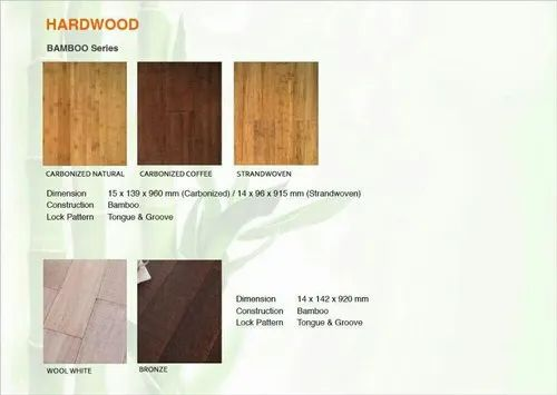 Coffee Color Bamboo Flooring