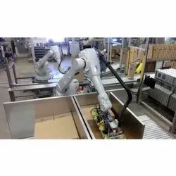 Mild Steel Packaging Robot