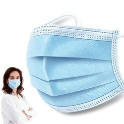 3 Ply Non Woven Surgical Mask (Disposable Face Mask )