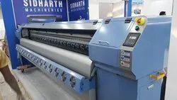 Konica Konico Minolta Flex Printing Machine, Printing Resolution: 360 Dpi, Media Thickness: 160-580 Gsm