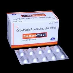 Cefpodoxime Proxetil 200mg Tablets