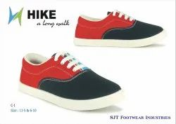 HIKE Men Red Casual Shoes