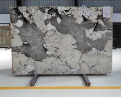 Polished Asterix Granite Slab, Thickness: 10 -25 mm, Countertops