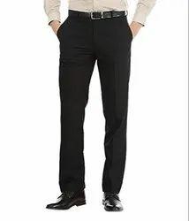 Cotton Formal Black Paint For Men
