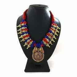 Meenakari Kolhapuri Necklace