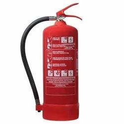Mild Steel A B C Dry Powder Type Portable Fire Extinguisher, For Factory, Capacity: 4Kg