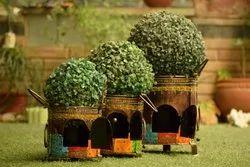 Iron Made Decorative Planter