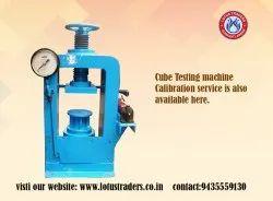 cube testing machine service