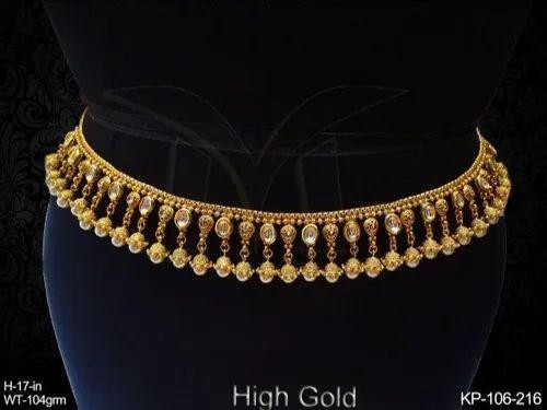 Antique Jewellery Kamar Patta