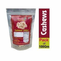 Freshco Cashew Nut, Packed, Packing Size: 100 Gm