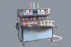 4 Nozzle Juice Filling Machine