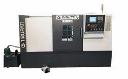 CNC Turning Machine Flat Bed