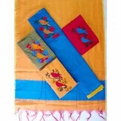 Aadhya Textiles Chanderi Cotton Suit Material