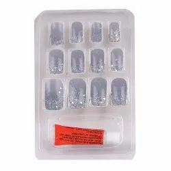 Bonjour Paris False Nails - Quick Stick Artificial Nail Set with Glue, 12 pc Set 06