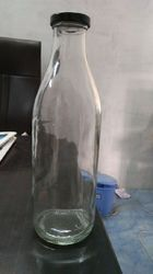 1000 ml milk Glass Bottle