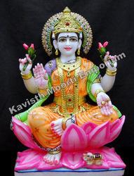 Marble Lakshmi Ma Moorti