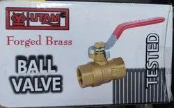 3/4 Inch Utam Forged Brass Ball Valves