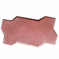 Zig Zag Concrete Paver Tile