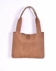 M B Exports Leather Shopper